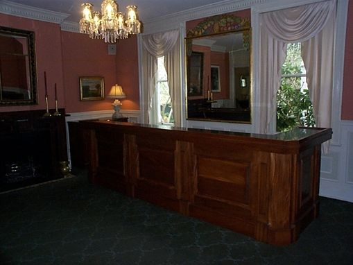 Custom Made Mahogany Bar