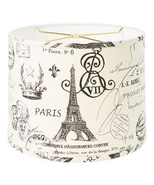 Custom Made Ville De Paris Drum Lampshade