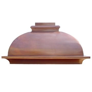 Custom Made Copper Range Hood Model #2, Style A