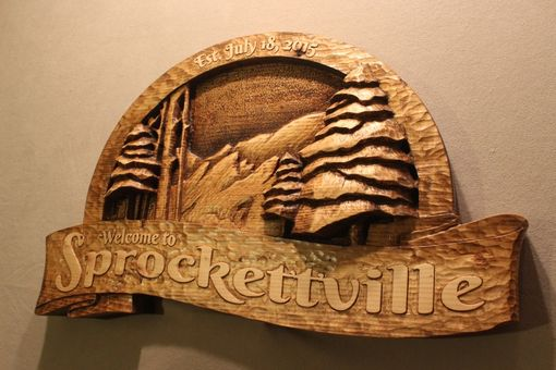 Custom Made Cabin Signs | Custom Wood Signs | Mountain Signs | Cottage Signs | Carved Wood Signs