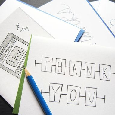 Custom Made Give Thanks Greeting Card Set