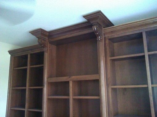 Custom Made Cherry Built In Wall Unit