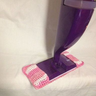 Custom Made Swiffer/Wetjet Crochet Cotton Cover
