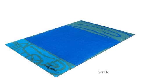 "Custom Made ""Jazz B"" Inspired By Israeli Artist, David Gerstein- Custom Rugs Collection By Allure Rug."