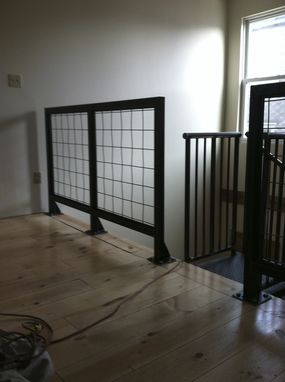Custom Made Custom Steel Handrails