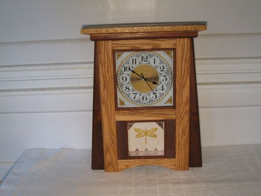Custom Made Mission Mantel Clocks