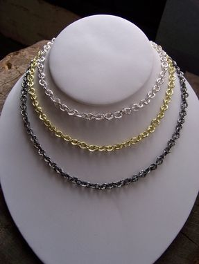 Custom Made Sterling Silver Raw Necklace