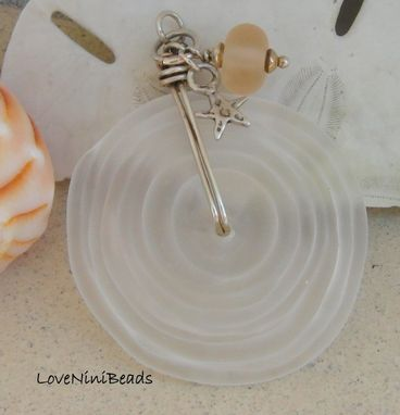Custom Made Beach Glass Pendant