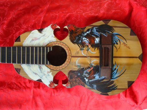 Custom Made Custom Painted Musical Instruments