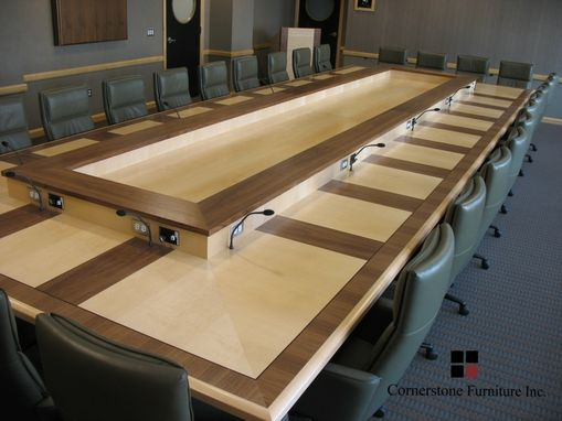 Custom Made Bronson Executive Boardroom Table