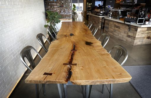 Custom Made Live-Edge Dining Table