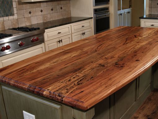 Custom Made Custom Butcher Block Countertop
