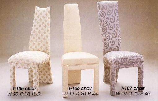 Custom Made Contemporary Chairs - Parson Chairs