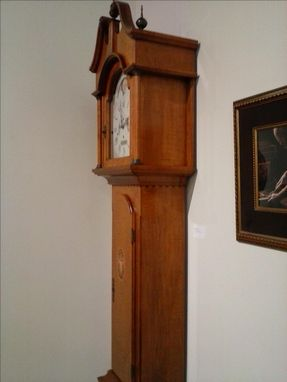 Custom Made Federal Style Grandfather Clock - Reproduction