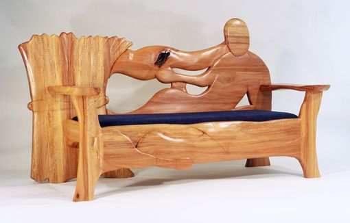 Custom Made Ruth And Boaz Loveseat