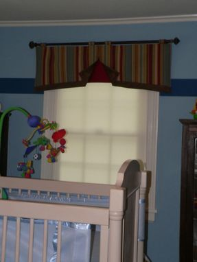 Custom Made Open Pleat Window Valance