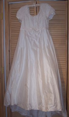 Custom Made Upcycled Wedding Dress
