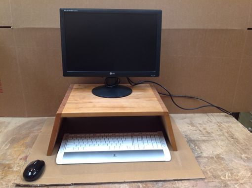 Custom Made Monitor Table