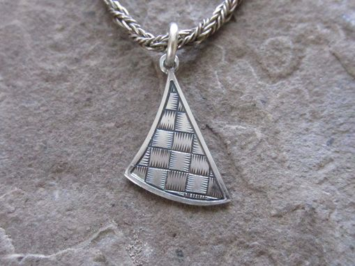 Custom Made Basket Weave Pendant #2