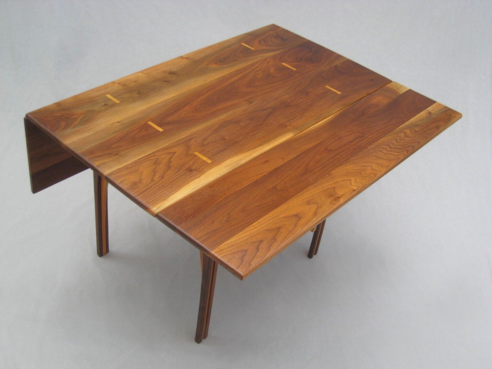 Buy A Custom Solid Walnut Drop Leaf Table Made To Order From