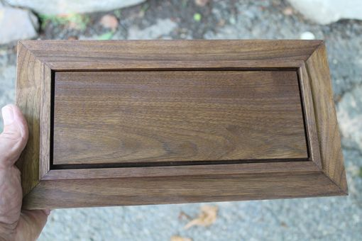 Custom Made Walnut And Cherry Box