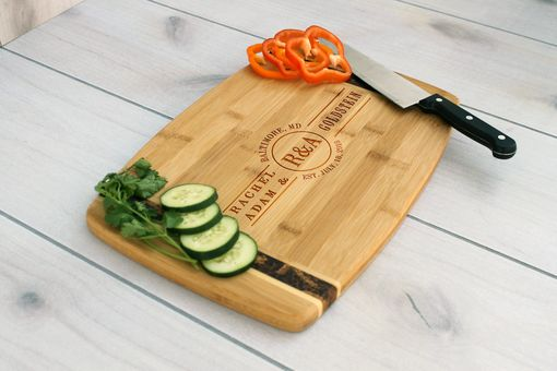 Custom Made Personalized Cutting Board, Engraved Cutting Board, Custom Wedding Gift – Cb-Bamm-Goldstein