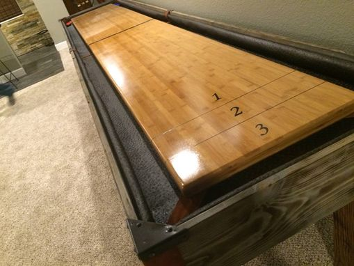 Custom Made Custom Shuffleboard Table
