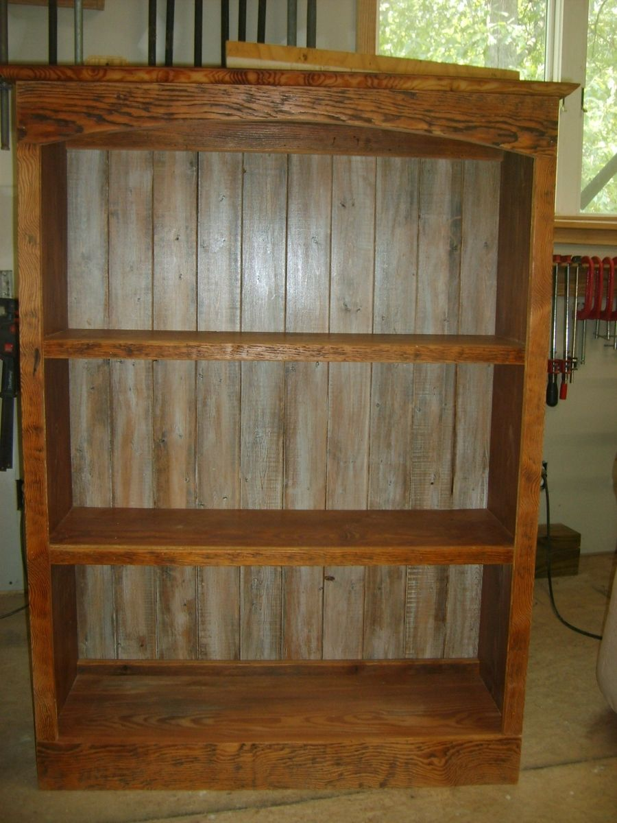 Hand Made Reclaimed Wood Bookcase by Norm's Custom ...