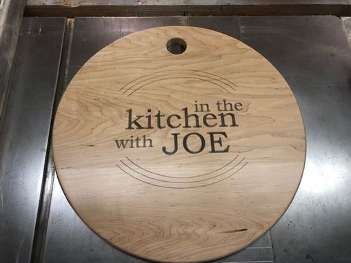 Custom Made Personalized Hardwood Cutting Boards