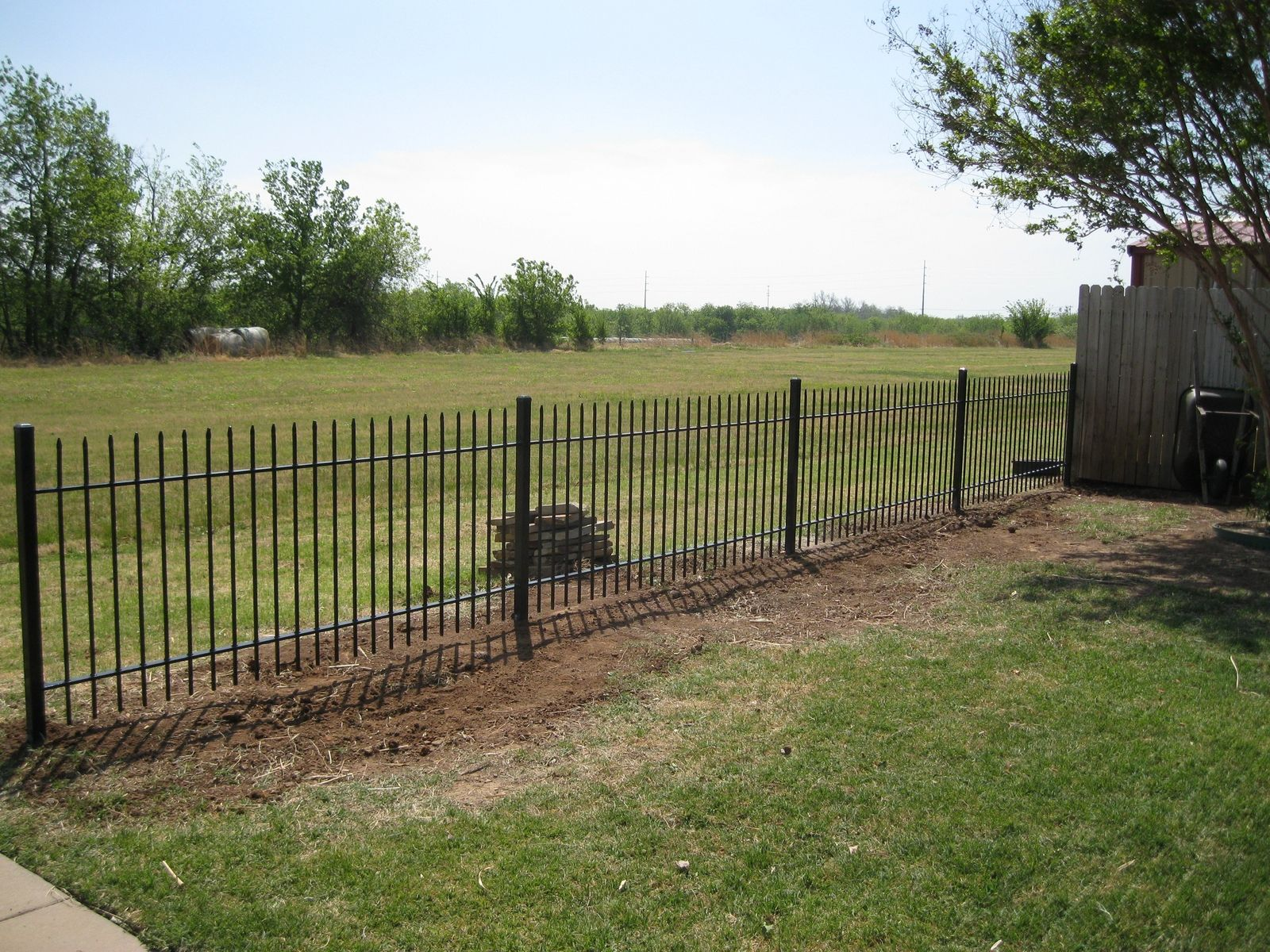 Custom hand forged picket fence by mciron custommade