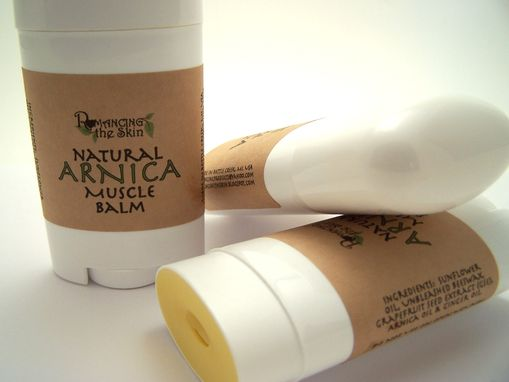 Custom Made Natural Arnica Muscle Balm (Gluten Free)