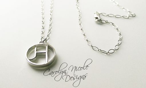 Custom Made Custom Initial Pendant