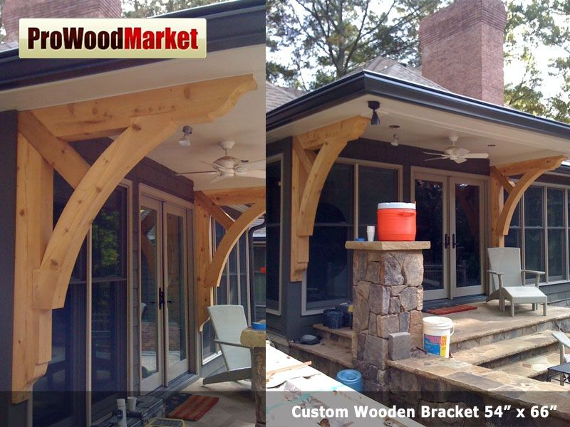 Handmade Custom Cedar Bracket By Pro Wood Market