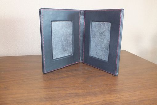 Custom Made Leather Picture / Card Frame