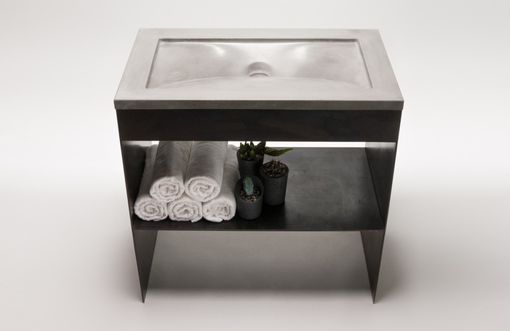 Custom Made Concrete Sink