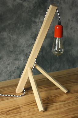 Custom Made Sitting Giraffe Lamp