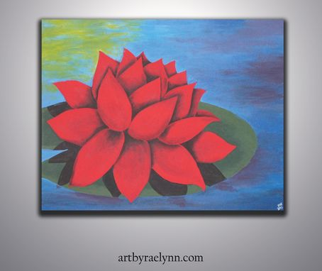 Custom Made Red Lotus