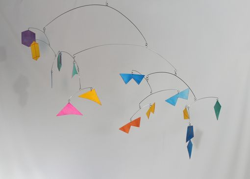 Custom Made Baby Mobile - Kites For Your Nursery Or Cool Kids Room