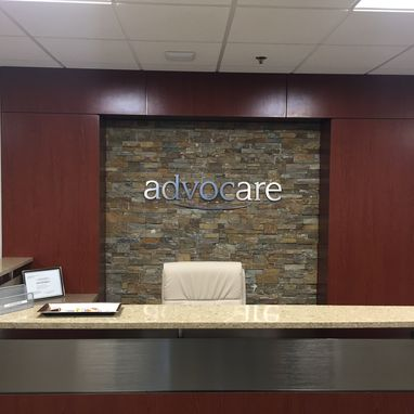 Custom Made Custom 3d Metal & Acrylic Wall Letters & Logo For Reception Desk