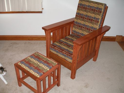 Custom Made 5 Slat Morris Chair