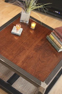 Image Result For Industrial Farmhouse Coffee Table
