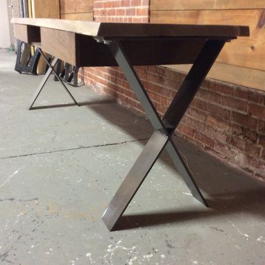 Custom Made Slant And Dimensional Desk