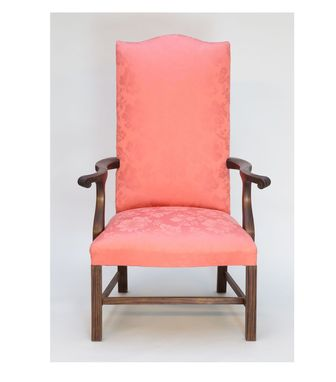 Custom Made Chippendale Lolling Chair