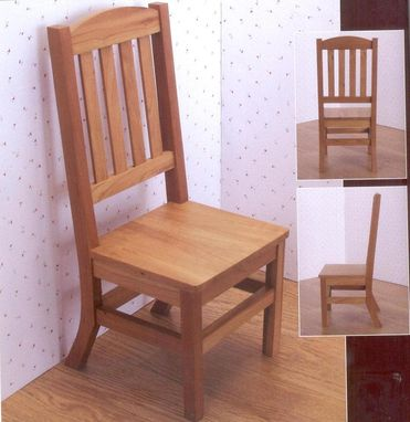"Custom Made Dining Chair For 18"" Dolls"