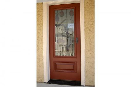 Custom Made Cherry Entry Door