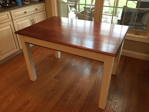 Custom Made Country Kitchen Table