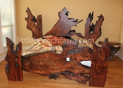 Custom Made Rustic Beds