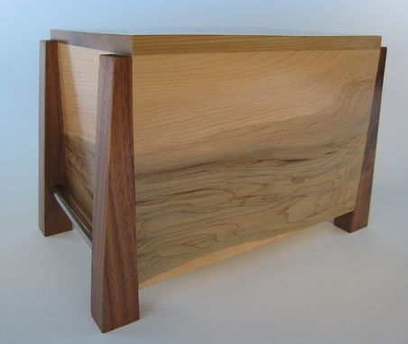 Custom Made Modern Cremation Urn Made To Order By Studio 1212 Furniture