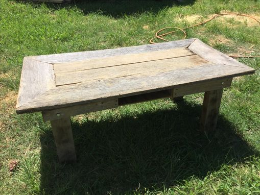 Custom Made Rustic Barn Wood Coffee Table
