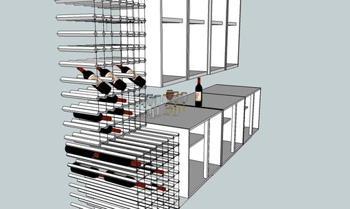 Custom Made 200+ Bottle Wine Rack